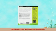 READ ONLINE  Windows 10 The Missing Manual - Video Dailymotion